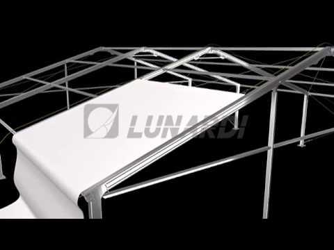 Lunardi - Montaggio tendostruttura Professional