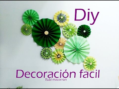 Decorar la pared - Manualidades para decorar paredes ...