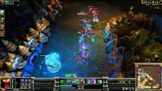 (HD 03) 5c5 cho gath part 1 - League Of Legend replays [FR] -