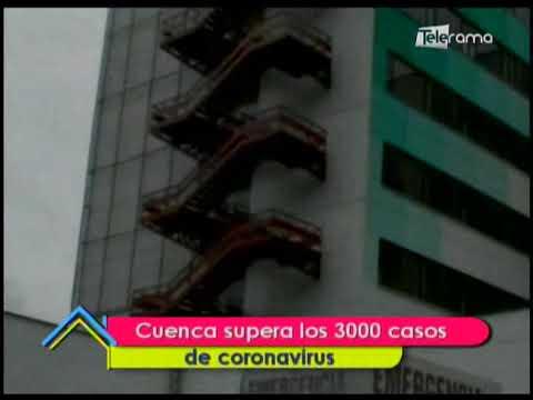 Cuenca supera los 3000 casos de coronavirus