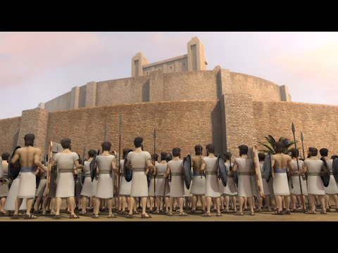 Superbook - Rahab and the Walls of Jericho - Season 2 Episode 4 - Full Episode (HD Version)