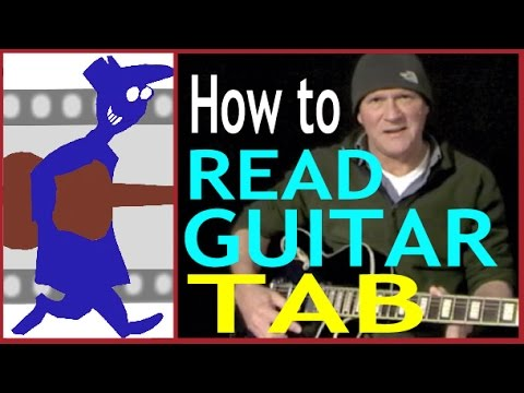 How to read guitar tab