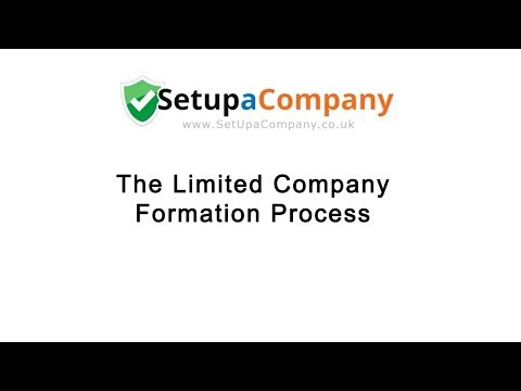 The Limited Company Formation Process