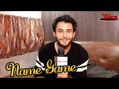 Name Game with Leenesh Mattoo aka Rudra| Ishqbaaaz