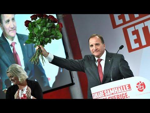 Σουηδία: Οι Σοσιαλδημοκράτες γιορτάζουν την πρώτη θέση στις εκλογές…