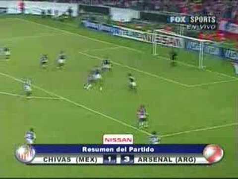 Chivas 1 - 3 Arsenal de Sarandí (Sudamericana 2007)