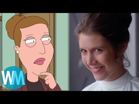 Top 10 Celebrities Who Appeared on Family Guy (видео)