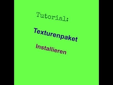 Minecraft Tutorial: Texturenpaket installiern