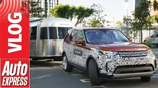 New Land Rover Discovery: we try Advanced Tow Assist in LA by Auto Express