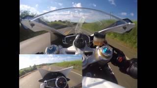 10. Trocamos de moto!! Testando a Daytona 675R - Top Speed 260km