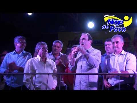 Felipe Orro Participa de comício em Maracaju