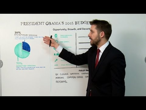 white - Watch as Deputy Director of the Office of Management and Budget, Brian Deese, sketches out the nuts and bolts of the President's Fiscal Year 2015 budget.