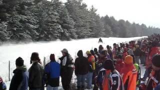 9. Ski-Doo 4Tec  MXZ  1/4 Mile Run @ Shootout in Woodgate