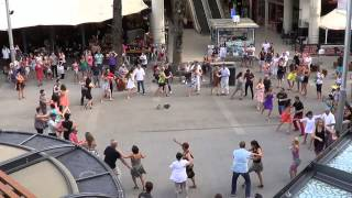 International Rueda De Casino Multi Flash Mob March 28th 2015 Gold Coast