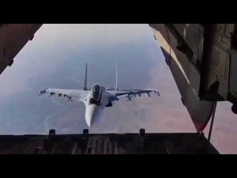 "Su-30 uses ""oh hai there"" maneuver (1:00)"