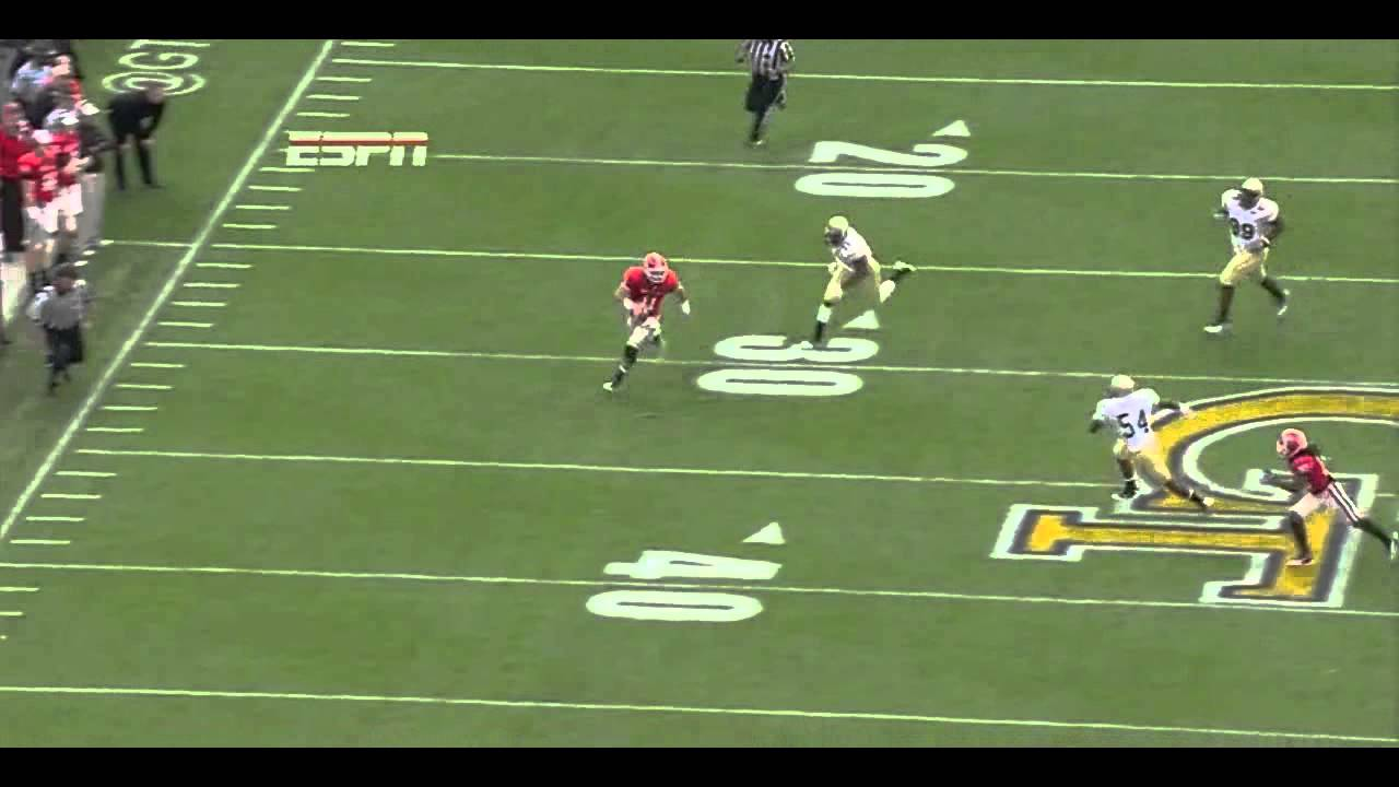 Aaron Murray vs Georgia Tech (2011)