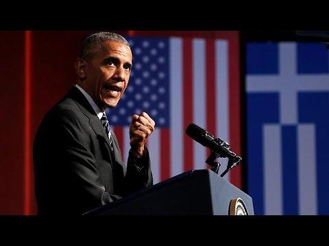 Ιστορική ομιλία Ομπάμα-«Ζήτω η Ελλάς», αναφώνησε ο αμερικανός πρόεδρος