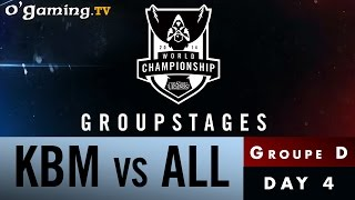 World Championship 2014 - Groupstages - Groupe D - KBM vs ALL