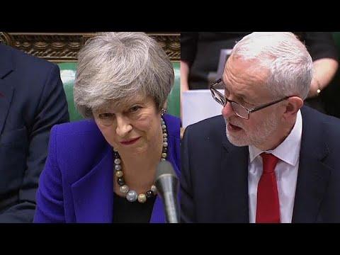 Großbritannien: May und Corbyn versuchen Schadensbe ...