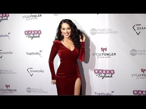 "Ashley Doris 2018 Babes in Toyland ""Holiday Toy Drive"" Red Carpet"
