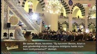 Mehmet Görmez Diyanet - Mevlid Kandili 2013 / Mimar Sinan Camii - İSTANBUL