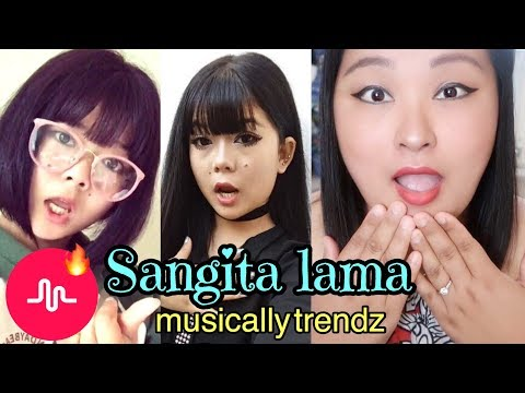 (Reacting to NEPALI CUTE GIRL *Sangita Lama* Popular Musical.ly - Duration: 6 minutes, 37 seconds.)