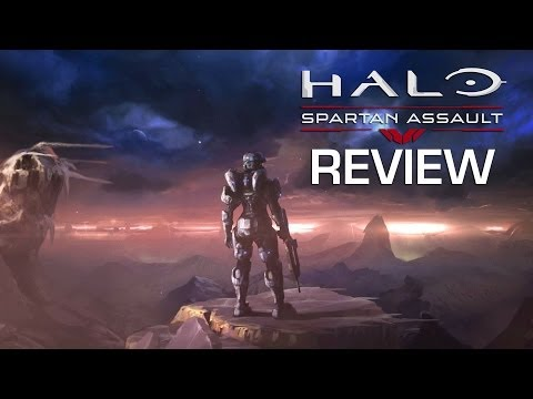 halo spartan assault xbox 360 review