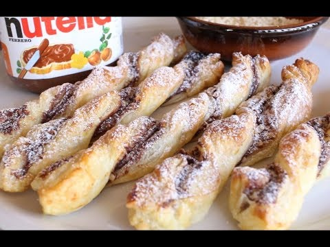 CHOCOLATE PUFF PASTRY TWISTS || Quick And Easy Recipes