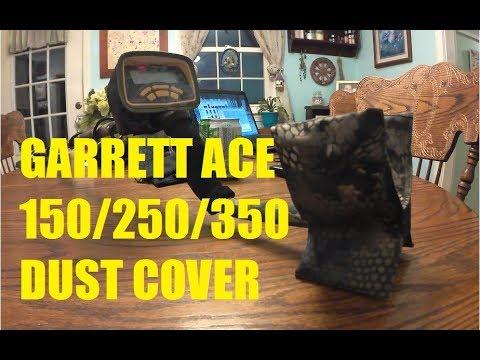 Garrett ACE 150/250/350 Weatherproof Dust Cover Snake Camo unboxing