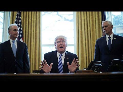 ΗΠΑ: Βαριά ήττα Τραμπ- Απέσυρε το νομοσχέδιο για την κατάργηση του Obamacare