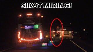 """Goyangan mosak-masik bus pelari pantura, Po. Haryanto HR 20 """"Paradise"""" dengan Pak Bero sebagai sopirnya, suoosss hoyag..."""