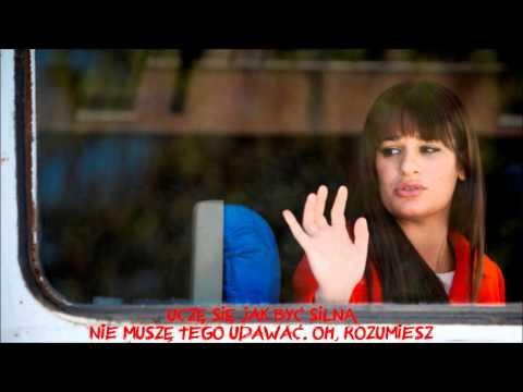 Tekst piosenki Glee Cast - Roots Before Branches po polsku