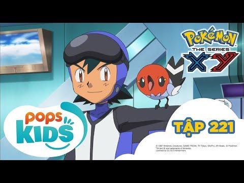 Pokémon Tập 221 - Trận Chiến Trên Không! Ruchaburu Đấu Với Phaiaro!  - Hoạt Hình Pokémon S17 XY - Thời lượng: 21:25.