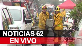 Incendio en casa rodante está bajo investigación – Noticias 62 - Thumbnail