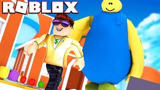 ESCAPE THE FAT GUY IN ROBLOX | Roblox Escape the Fat Guy Obby