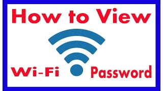 In this tutorial you will learn about how to view your connected wifi password