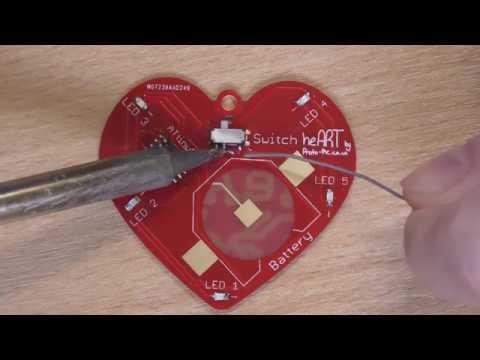 heART soldering kit turorial