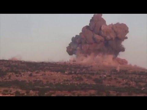 НЛО помогает России в Сирии