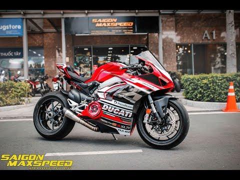 """Ducati V4 Cùng """"Bể Cá"""" và Pô SC PROJECT Âm Thanh Khủng ! - Thời lượng: 2:46."""