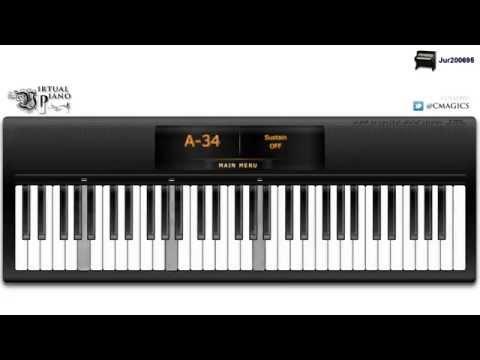 Mulan - Reflection - Virtual Piano