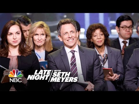 Late Night White House Press Briefing: Where Did You Lose Your Virginity?