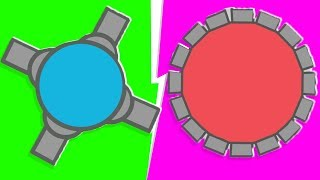 Diep.io - 4-Player (MAX Bullet SIZE) Tank.io| JeromeASF