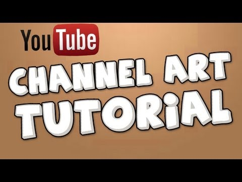 how to create channel art