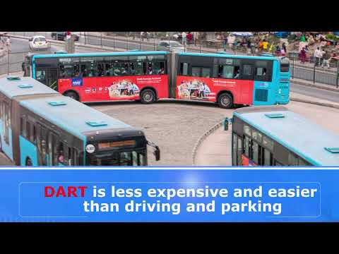 Animated video demonstrating on how DART BRT operates.