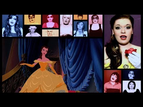 One Woman A Cappella Disney Medley