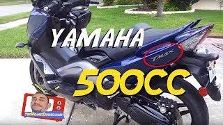 10. 2009 Yamaha TMAX 500  Walk Around