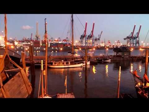 Hamburg Övelgönne Hafen / 29.06.2018
