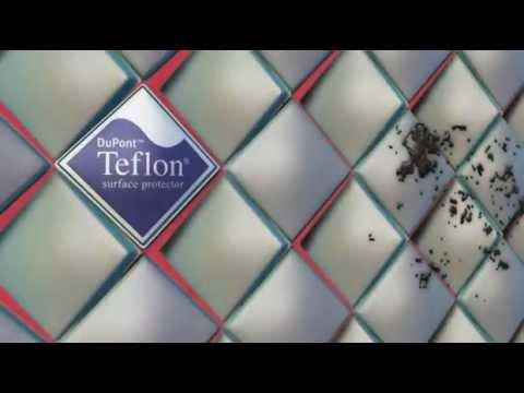 Farba z dodatkiem Teflon® surface protector.