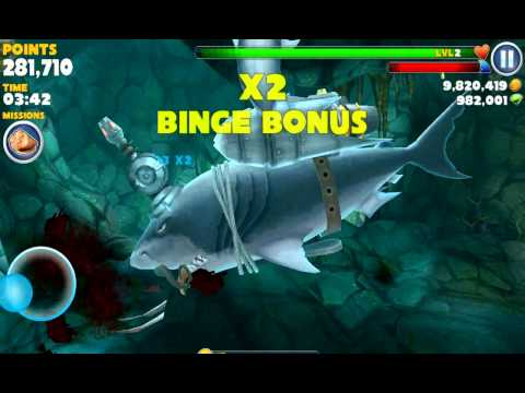 Hungry Shark Evolution - Megalodon - High Score