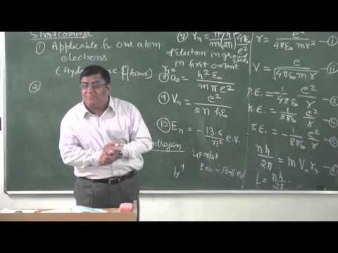 XII-10.3.Atom,Bohrs Postulates Pradeep Kshetrapal Physics